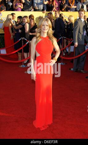 US-Schauspielerin Kyra Sedgwick besucht die 18. jährliche Screen Actor Guild - SAG - Awards im Shrine Auditorium - Stockfoto
