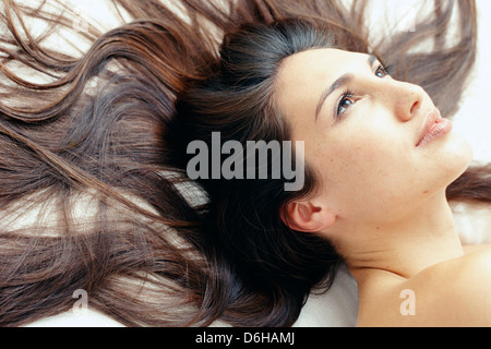 Gesunde Frau - Stockfoto