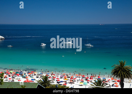 Clifton Beach, Kapstadt, Südafrika - Stockfoto