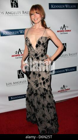 Los Angeles, USA. 20. April 2013. Alicia Witt besucht Los Angeles Rubine Ballettgala 20. April 2013 in The Beverly - Stockfoto