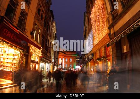 Weihnachten in Brüssel. - Stockfoto