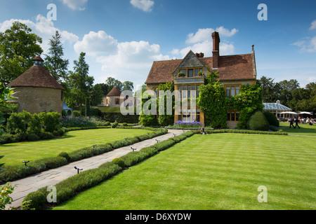Le Manoir Aux Quat' Saisons Luxushotel gegründet von Raymond Blanc in Great Milton in Oxfordshire, Vereinigtes Königreich - Stockfoto
