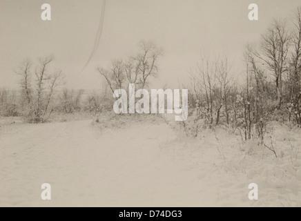 Untitled (zugefrorenen Fluss) - Stockfoto
