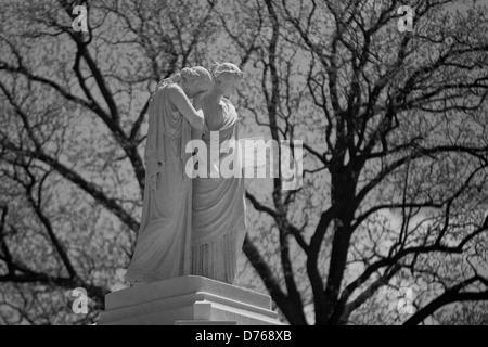 Statue von Trauer und Geschichte der Peace Monument im US Capitol gründen, Washington, DC, USA - Stockfoto