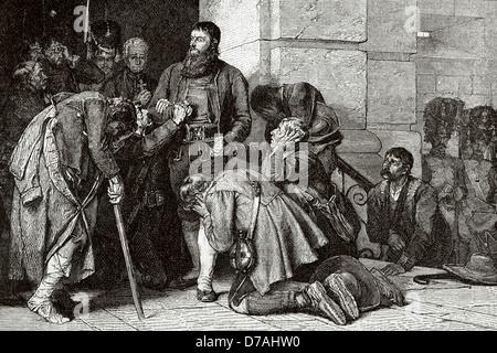 Andreas Hofer (1767-1810). Tiroler Patriot. Führer des Tiroler Aufstandes gegen bonapartistische Imperialismus. - Stockfoto