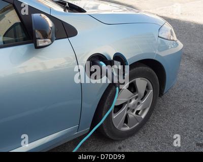 Ladestation Elektroauto - Stockfoto