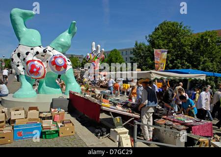 Flohmarkt Heide Marktplatz