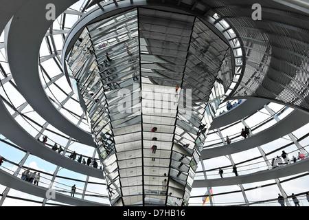 Der deutsche Reichstag in Berlin - Stockfoto