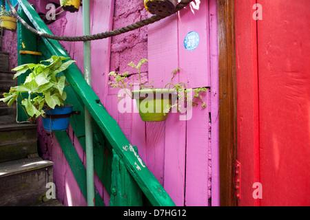 Restaurant in Seminyar auf Bali, Indonesien - Stockfoto