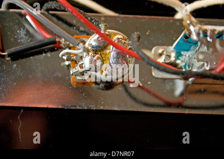 Drei Schalter Weg mit Verdrahtung von einer Art Gitarre Telecaster ...