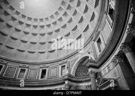 Pantheon-Decke - Stockfoto