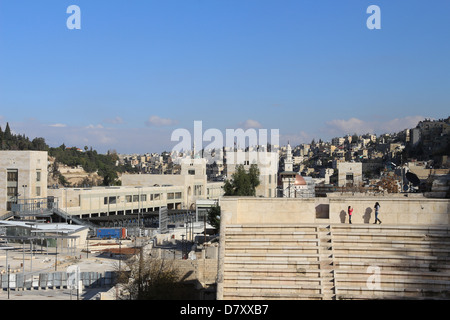 Römisches Amphitheater in Amman, Jordanien Naher Osten - Stockfoto