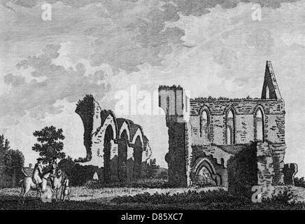 Newark Priory Surrey - Stockfoto