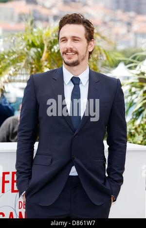 Cannes, Frankreich. 20. Mai 2013.  JAMES FRANCO. Als ich Lay Dying photocall.66th Cannes Film Festival.Cannes, France.May - Stockfoto