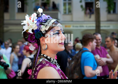 Berlin, Deutschland. 19. Mai 2013. Karneval der Kulturen - jährlichen Karneval und Straßenfest in Deutschlands Hauptstadt - Stockfoto