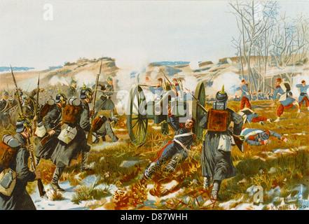 Schlacht von Villiers 1870 - Stockfoto