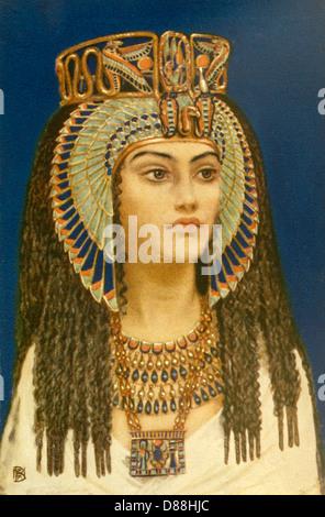 Tiy ägyptische Königin Stockfoto