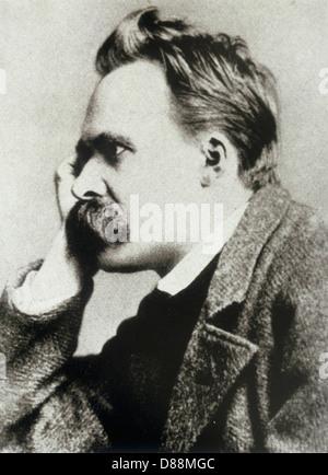 Friedrich Nietzsche - Stockfoto