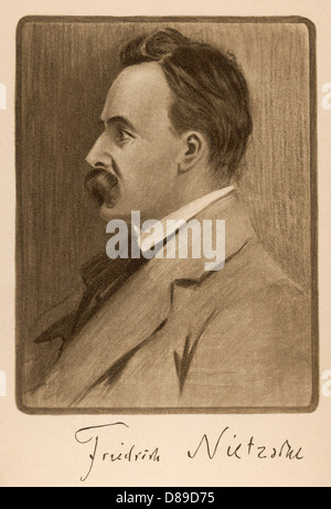 Nietzsche - Stockfoto
