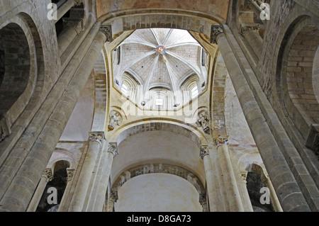 Abteikirche Sainte Foy - Stockfoto