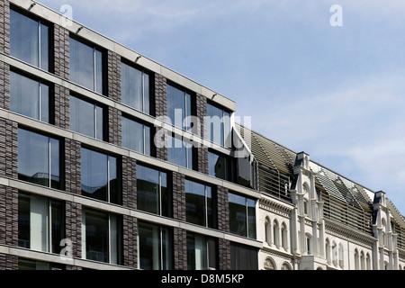 Moderne Architektur, Valentinskamp, Hamburg, Deutschland - Stockfoto