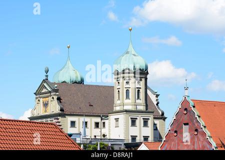 Historischen Renaissance Rathaus Augsburg - Stockfoto