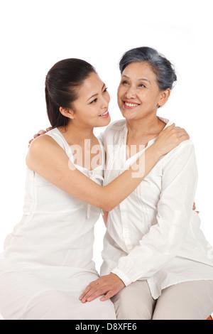 Mutter und Tochter - Stockfoto