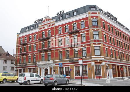 Das Victoria Hotel in Stavenger Norwegen - Stockfoto
