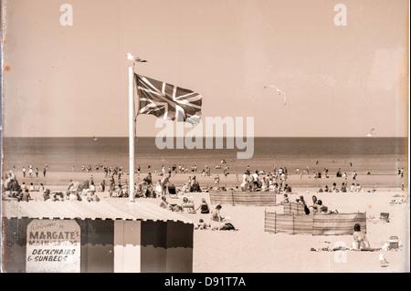 England Englisch GB Kent Main Sand Margate UK - Stockfoto