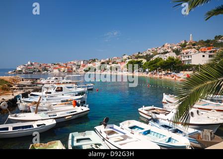 Igrane, Kroatien, Europa - Stockfoto