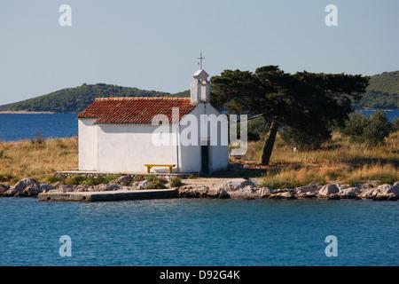 Pakostane-Kroatien - Stockfoto