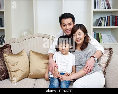 Familienfoto - Stockfoto
