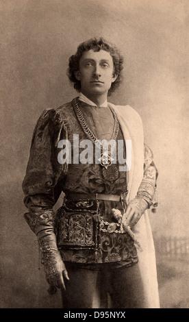 Johnson Forbes-Robertson (1853-1937), englischer Schauspieler - Manager. 1913 zum Ritter geschlagen. Hier als Romeo - Stockfoto