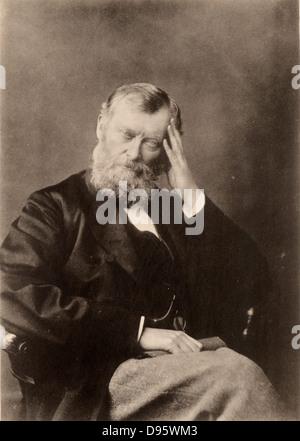 William Edward Forster (1818-1886), englischer Liberaler Politiker: Elementary Education Act (1870) Chief Secretary - Stockfoto