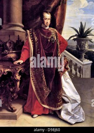 Ferdinand I. (19. April 1793 bis 29. Juni 1875) war Kaiser von Österreich, Präsident des Deutschen Bundes, König - Stockfoto