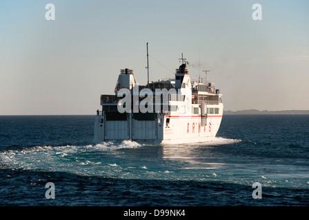 "ARMAS ""Volcan De Tindaya"" Kanarischen Inseln Fähre - Stockfoto"