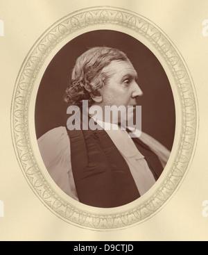 Archibald Campbell Tait (1811-1882) Englisch churchman abgebildet. c 1876. Ihm gelang es Dr. Arnold als Schulleiter - Stockfoto