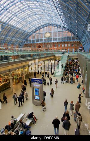 Bahnhof St. Pancras Station, London, England, UK - Stockfoto
