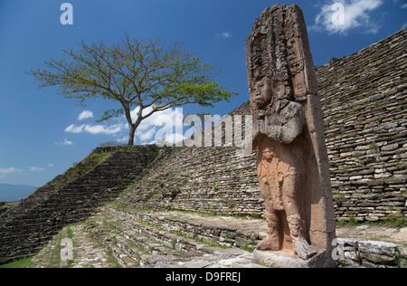 Tonina archäologische Zone, Chiapas, Mexiko - Stockfoto