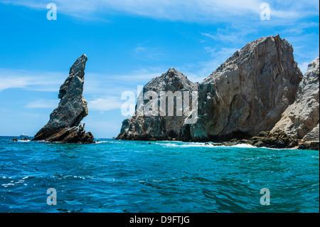 Lands End Felsformation, Los Cabos, Baja California, Mexiko - Stockfoto