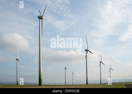 Windparks in Deutschland - Stockfoto