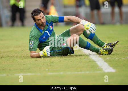 Gianluigi Buffon (ITA), 19. Juni 2013 - Fußball / Fußball: FIFA Confederations Cup Brasilien 2013 Gruppe A match - Stockfoto