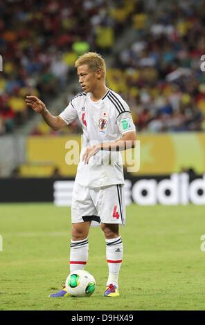 Keisuke Honda (JPN), 19. Juni 2013 - Fußball / Fußball: FIFA Confederations Cup Brasilien 2013 Gruppe A match zwischen - Stockfoto