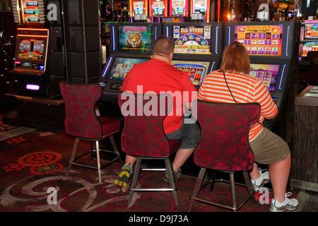 Nevada Las Vegas The Strip South Las Vegas Boulevard Cosmopolitan Hotel Las Vegas Casino Spielautomat Maschinen - Stockfoto