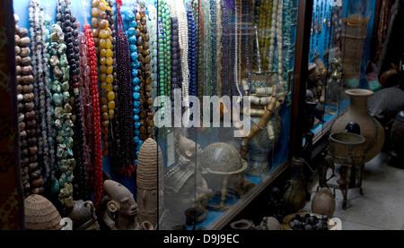 Juweliergeschäft, Souk, Marrakesch, Marokko - Stockfoto
