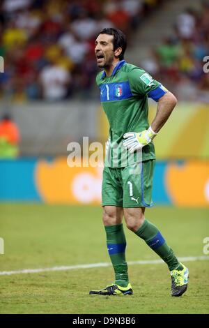 Gianluigi Buffon (ITA), 19. Juni 2013 - Fußball / Fußball: FIFA-Konföderationen-Pokal-Brasilien-2013, Gruppe A match - Stockfoto