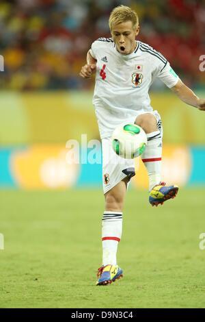 Keisuke Honda (JPN), 19. Juni 2013 - Fußball / Fußball: FIFA-Konföderationen-Pokal-Brasilien-2013, Gruppe A match - Stockfoto
