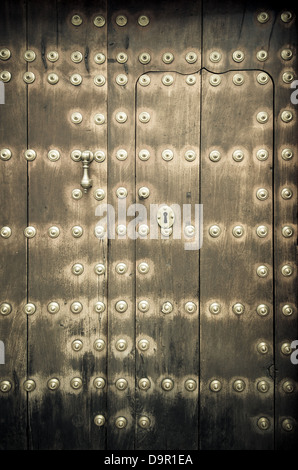 Nahaufnahme von alten Türen - Stockfoto