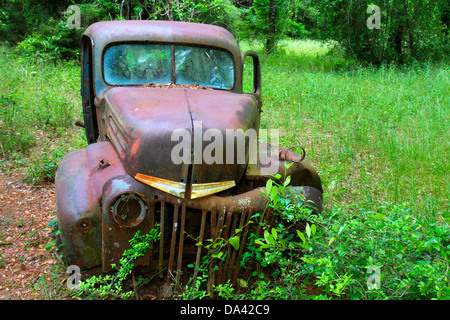 Florida Trinidad antike Lkw Fahrzeug verrostet - Stockfoto