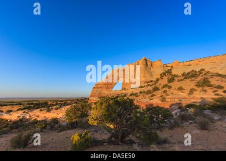 White Mesa Arch, im Nord-östlichen Teil von Arizona, USA - Stockfoto